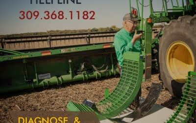 Illinois farmer reviews planting behind calmer corn head