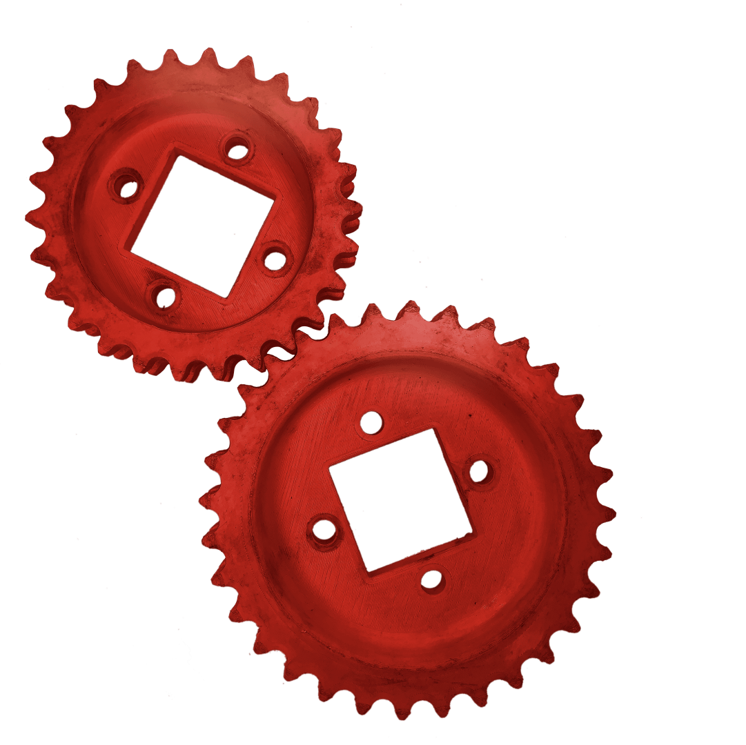 drive and idler sprocket for chain timing case 4000