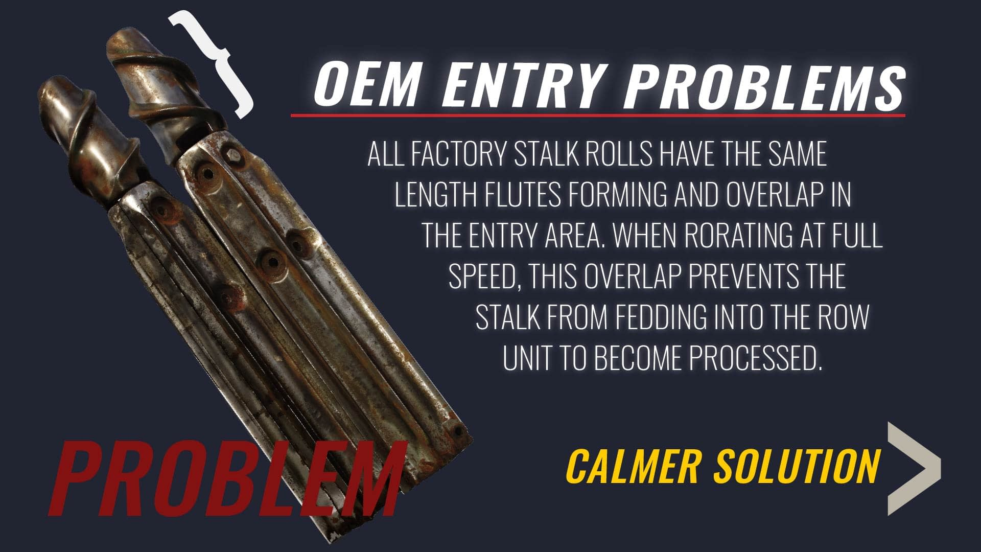 OEM entry window problems in snapper rolls