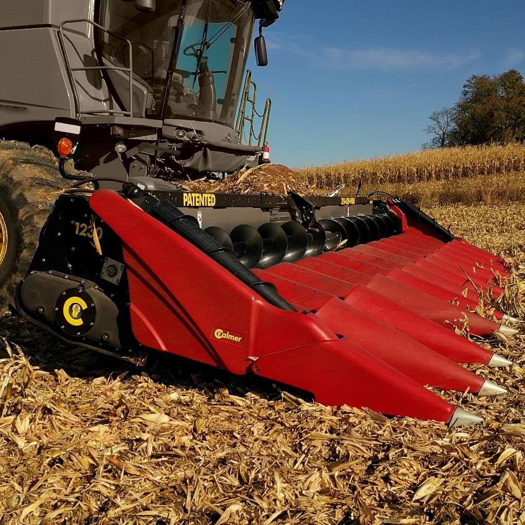 Calmer Built Custom Corn Head Manufactured in Illinois