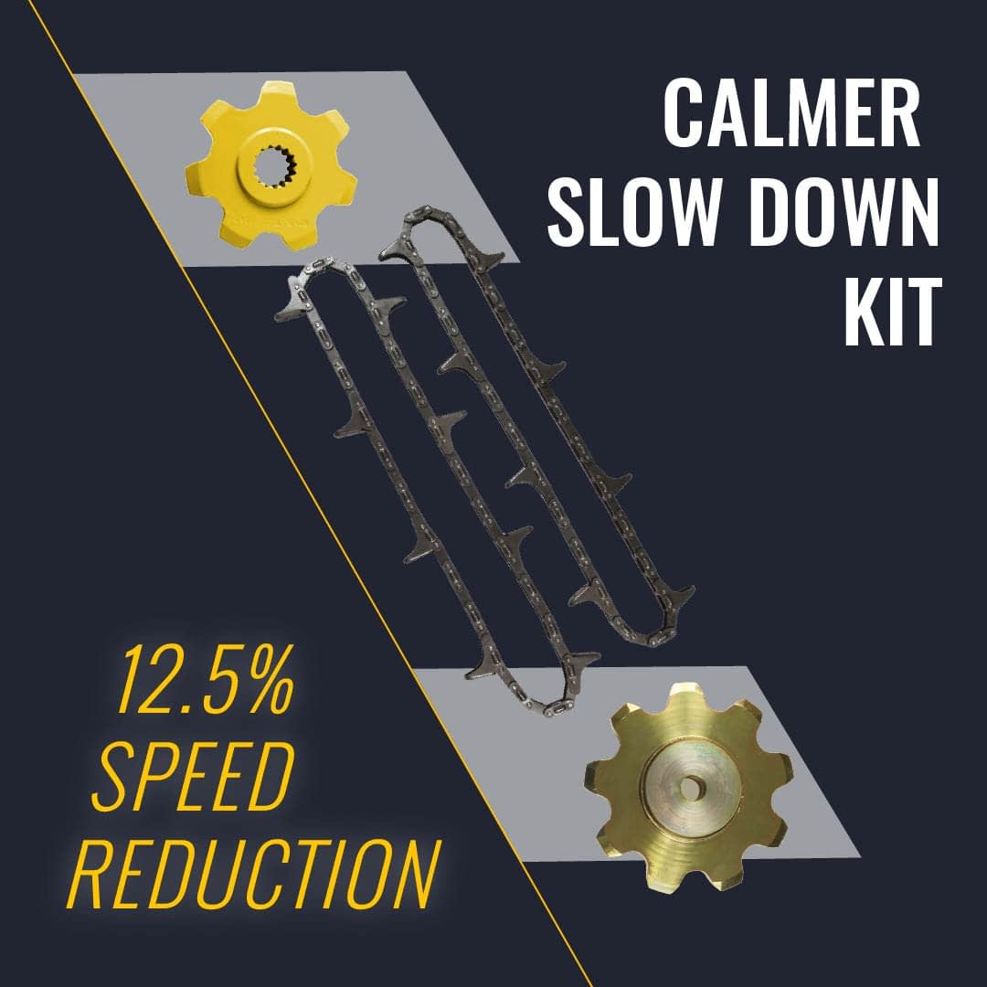 calmer slow down kit for new holland corn heads