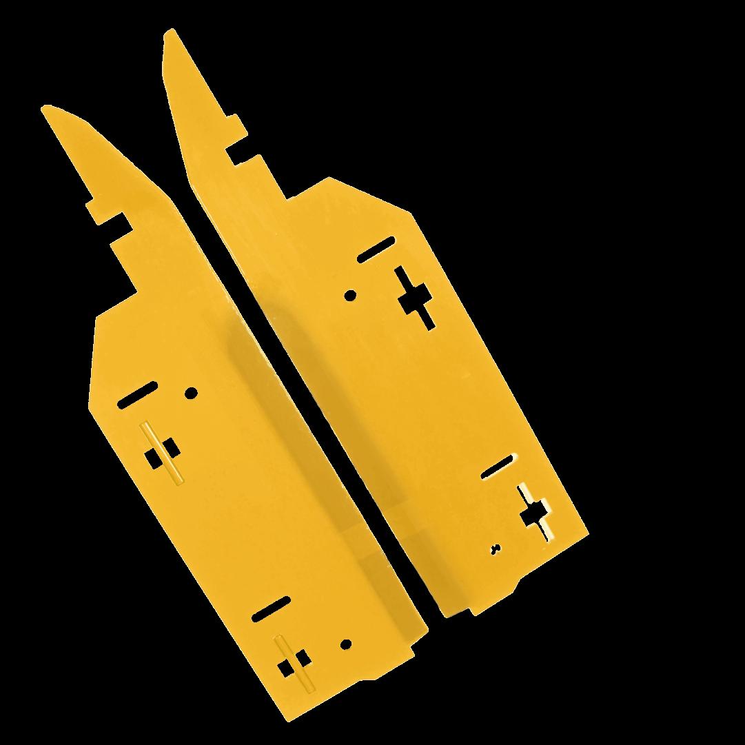 calmer stripper plates for new holland corn corn harvesting